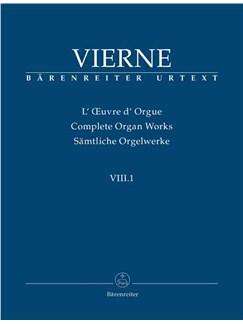 Louis Vierne: Complete Organ Works Book VIII.1 Books | Organ