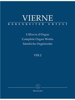 Louis Vierne: Sämtliche Orgelwerke Band VIII.2: Pièces En Style Libre En Deux Livres, Livre 2 Books | Organ