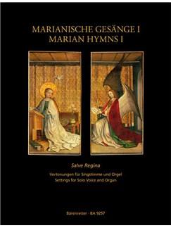 Peter Wagner: Marianische Gesänge Band 1 - Salve Regina Books | Voice, Organ