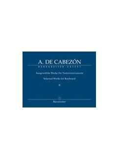 Antonio De Cabezón: Selected Works For Keyboard - Volume 2 Books | Organ