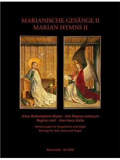 Marian Hymns Volume 2 Books | Medium Voice, Organ Accompaniment