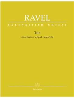 Maurice Ravel: Trio Pour Piano, Violon Et Violoncelle / Trio Für Klavier, Violine Und Violoncello Books | Piano, Violin, Cello