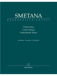 Bedrich Smetana: Tschechische Tänze Für Klavier Books | Piano