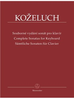 Leopold Kozeluch: Complete Sonatas For Keyboard - Volume I Books | Piano