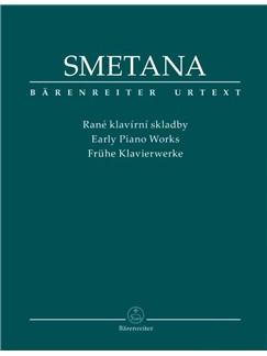 Bedrich Smetana: Early Piano Works (Urtext) Books | Piano