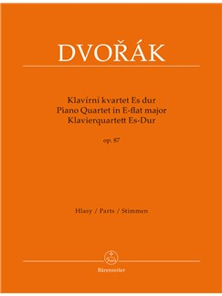 Antonin Dvorak: Piano Quartet In E Flat Op.87 Books | Viola, Violin, Piano Chamber