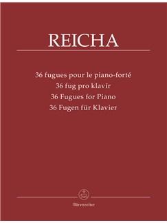 Antonin Reicha: 36 Fugues For Piano Books | Piano