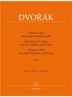 Terzetto in C major Op.74 for 2 Violins and Viola Books | Violin, Trio