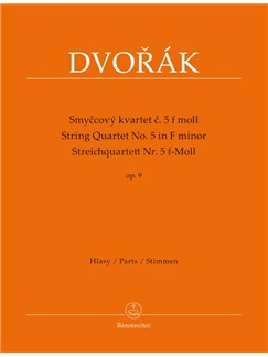 String Quartet No. 5 In F Minor, Op.9. Parts Books | String Quartet