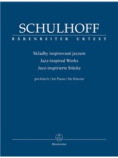 Erwin Schulhoff: Jazz Inspired Works For Piano Books | Piano