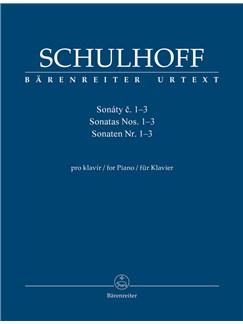 Erwin Schulhoff: Piano Sonatas Nos.1-3 Books | Piano