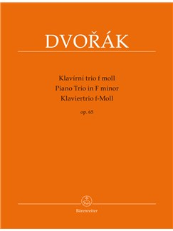 Piano Trio No.3 in F minor, Op.65 Books   Piano Chamber