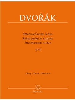 Antonin Dvorak: String Sextet In A major Op.48 Libro | Conjunto de Cuerda