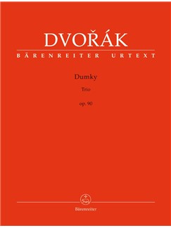 A. Dvorak: Dumky - Piano Trio No.4 In E Minor Op.90 Books | Cello, Violin, Piano Chamber