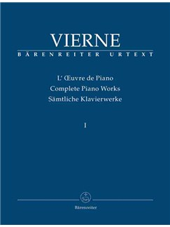 Piano Works Vol. 1: The Early Works (1893-1912) (Urtext) Books | Organ