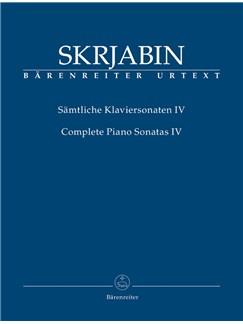 A. Scriabin: Complete Piano Sonatas - Volume 4 Books | Piano