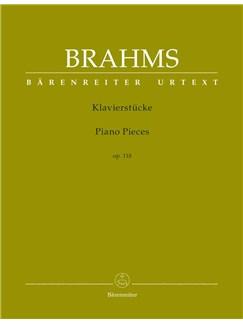 Johannes Brahms: Piano Pieces Op.118 (Barenreiter Urtext) Libro   Piano