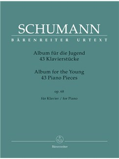R. Schumann: Album For The Young - 43 Piano Pieces Op.68 Books | Piano