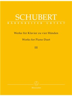 Works for Piano Duet Volume 3 (Urtext) Books | Piano Duet