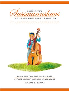The Sassmannshaus Tradition: Early Start On The Double Bass - Volume 2 Books | Double Bass