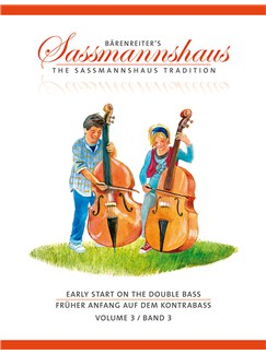 The Sassmannshaus Tradition: Early Start On The Double Bass - Volume 3 Books | Double Bass