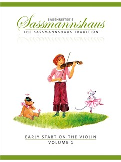 E. Sassmannshaus: Early Start On The Violin - Volume 1 Books | Violin