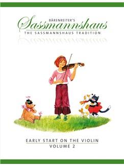 E. Sassmannshaus: Early Start On The Violin - Volume 2 Books | Violin