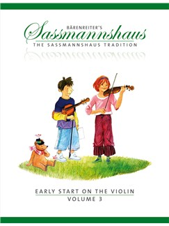 E. Sassmannshaus: Early Start On The Violin - Volume 3 Books | Violin