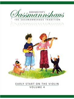 E. Sassmannshaus: Early Start On The Violin - Volume 4 Books | Violin