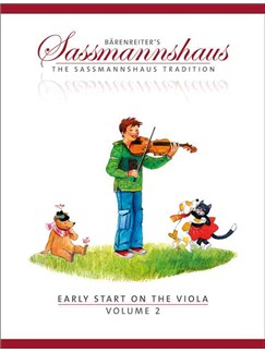 The Sassmannshaus Tradition: Early Start On The Viola - Volume 2 Books | Viola