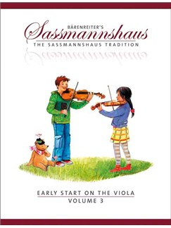 The Sassmannshaus Tradition: Early Start On The Viola - Volume 3 Books | Viola