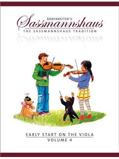 The Sassmannshaus Tradition: Early Start On The Viola - Volume 4 Books | Viola