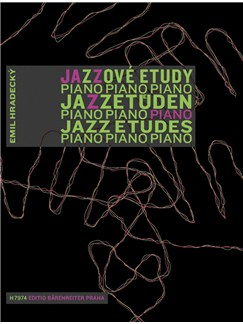 Emil Hradecky: Jazz Etudes For The Young Pianist (Czech/German/English) Books | Piano