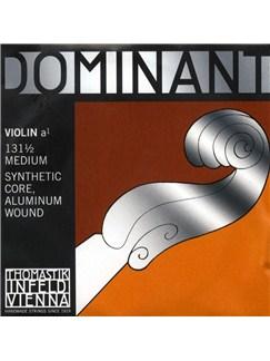 Thomastik: Dominant 131 1/2 Medium Violin A String - Synthetic Core/Aluminium Wound  | Violin