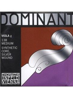Thomastik: Dominant G 3rd 4/4 - Medium Single Viola String  | Viola