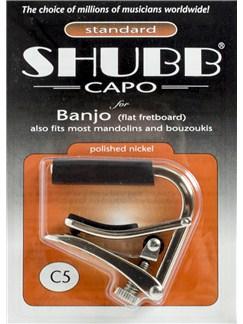Shubb: Banjo Capo (C5)  | Banjo, Mandolin, Bouzouki