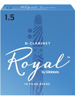 Rico Royal: Clarinet Reeds 1.5 (Pack Of 10)  | Clarinet