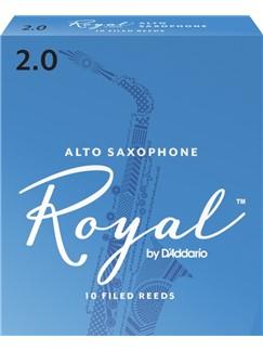 Rico Royal: Alto Saxophone Reeds 2 (Box of 10)  | Alto Saxophone