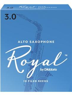 Rico Royal: Alto Saxophone Reeds 3 (Box of 10)  | Alto Saxophone