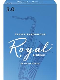 Rico Royal: Tenor Saxophone Reed (Strength 3) Pack Of 10  | Tenor Saxophone