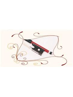 Hidersine: 3/4 Violin Bow - Brazilwood  | Violin