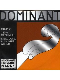 Thomastik: Dominant 130 1/2 Medium Violin E String - Steel Core/Aluminium Wound  | Violin