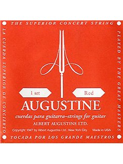 Augustine: Red Label Guitar String Set  | Classical Guitar