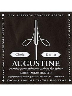 Augustine: Single Classic 1st (High E) Guitar String  | Classical Guitar