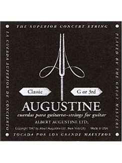 Augustine: Single Classic 3rd (G) Guitar String  | Classical Guitar