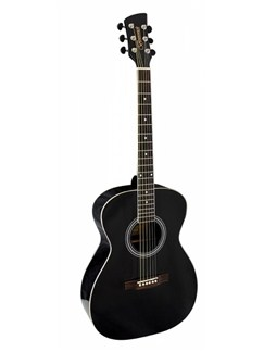 Brunswick: BF200 Folk Acoustic Guitar - Black Instruments | Acoustic Guitar