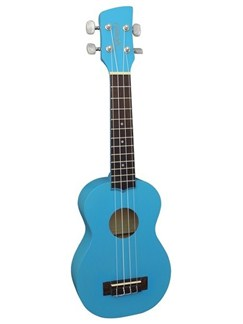 Brunswick: BU1 Soprano Ukulele - Blue Instruments | Ukulele