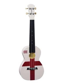 Brunswick Plastic ABS Concert Ukulele: English Flag Instruments | Ukulele