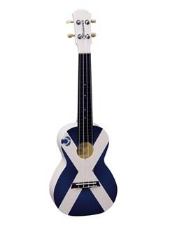 Brunswick Plastic ABS Concert Ukulele: Scottish Flag Instruments | Ukulele
