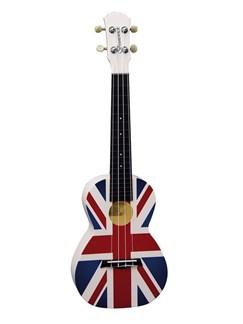Brunswick Plastic ABS Concert Ukulele: Union Jack Instruments   Ukulele
